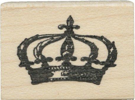 Tampon en caoutchouc - Tiny Shadow Crown - Cats Life Press 660 B