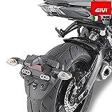 2015-2017 Cubierta TRIBOSEAT para Asiento Antideslizante Accesorio Personalizado Negro Compatible con Yamaha MT09 Tracer