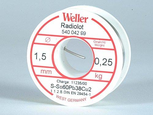 Weller RL60/40–250Allgemeine Zwecke Lötzinn Kunstharz Core
