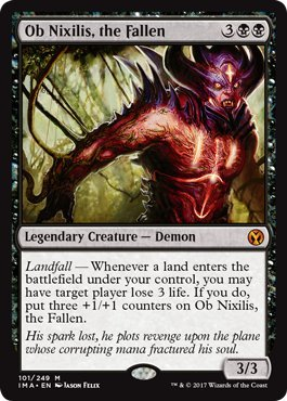Ob Nixilis, the Fallen - Iconic Masters