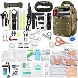 Kit de Supervivencia de Emergencia, 40 en 1, Equipo de Supervivencia Profesional, Herramienta, Equipo de Primeros Auxilios táctico, Suministros, Kits, Regalos, Ideal(Color:A,Size:010FS)
