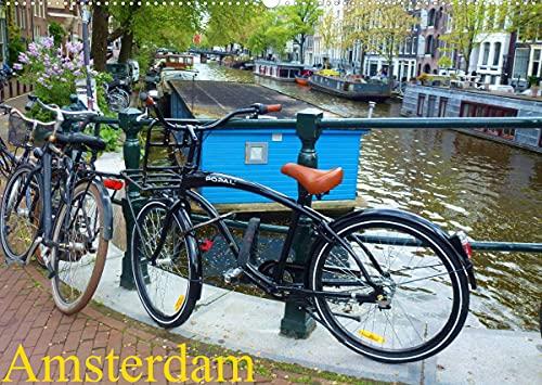 Amsterdam (Wandkalender 2022 DIN A2 quer)