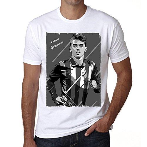 One in the City Antoine Griezmann 1 T-Shirt,Cadeau,Homme,Blanc, L,t Shirt Homme