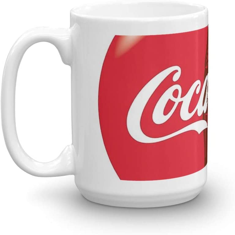 Coca Cola. 15 Oz Lowest price challenge Fine Ceramic Finish. Glaze Sale special price Mug With Flawless