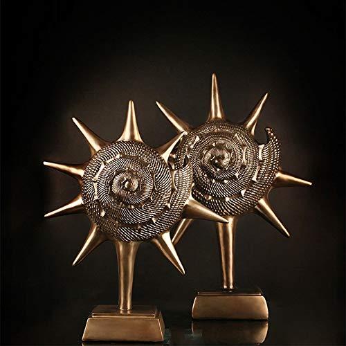 DAMAI STORE Artesanías De Resina Porche Creativa Decoración De Su Cuarto De Estar Hogar Estadounidense Ornamentos Regalos del Arte