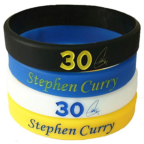 Silicone Wristband Bracelets For Sports Fans,4 Pack (SC)