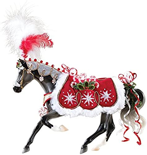 Breyer Traditional (1 9) 700118 Holiday Horse - Peppermint Kiss