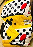 A D Mickey Mouse Cartoon Kids Design Print Single Bed Reversible AC Blanket