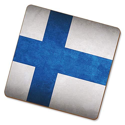 eSwish Untersetzer trinken Finnland/Finnische Nationalflaggen
