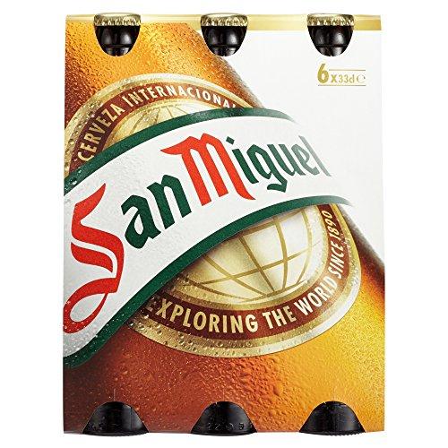 San Miguel Lager MEHRWEG, (6 x 0.33 l)