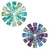12 Color Navidad Set Nail Glitter Iridescent Flakes Para Lentejuelas Arte Decoración Brillante Para Ojos Mejillas