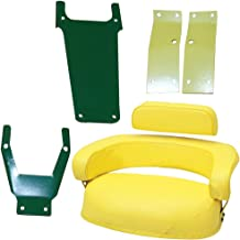 John Deere 3 Piece Seat Cushion Set w/ SBK400 Brackets 2520 3020 4020 4320 4620+