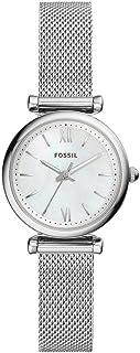 ساعة رسمة من فوسيل للنساء مصنوعة من ستانلس ستيل ES4432