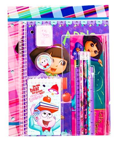 Dora and Boots 11 Piece Set School Supplies
