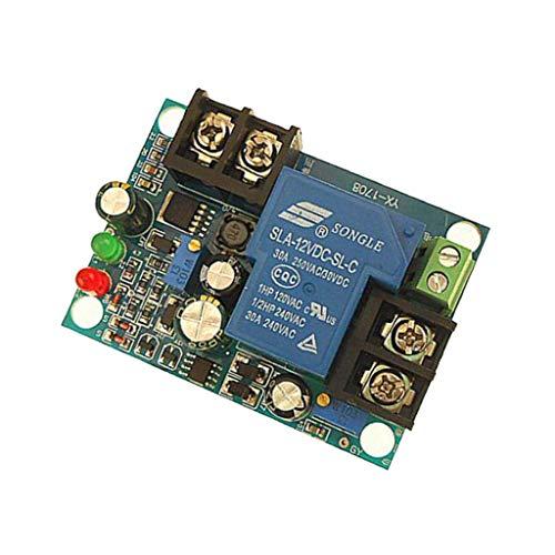 H HILABEE YX1708 12V DC Voltage Detektion Charging Entlastung Monitor Test Schalter Control Board Modul