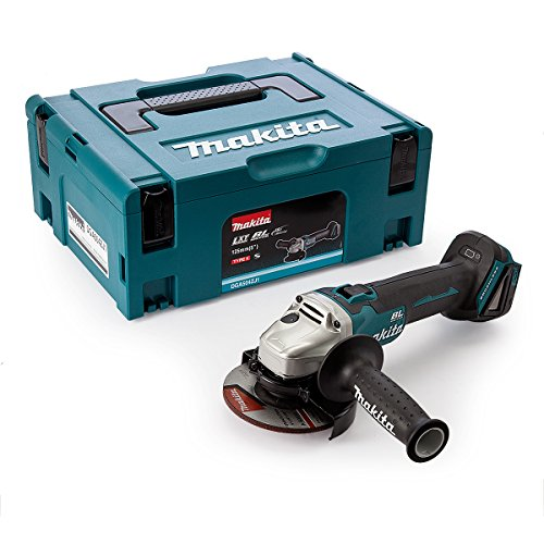 Makita DGA504ZJ1-125 mm 18 v amoladora angular sin escobillas sin cable de ion-litio con el caso makpac