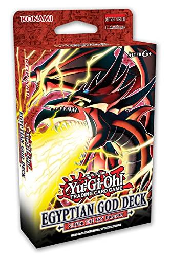 Yu-Gi-Oh! TRADING CARD GAME Ägyptisches Götter-Deck: Slifer der Himmelsdrache - Deutsche Ausgabe