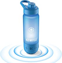 ICEWATER 3-in-1 Smart Water Bottle(Glows to Remind You to Stay Hydrated)+Bluetooth Speaker+Music Dancing Lights,22 oz,Stay...