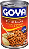 Goya Foods Mexican Style Pinto Beans, 15 Ounce (Pack of 24)