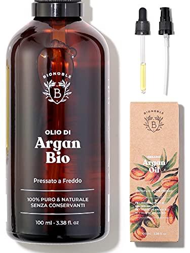 OLIO DI ARGAN PURO BIOLOGICO | 100% Puro, Naturale...