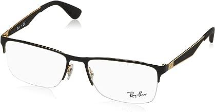 Ray-Ban RX6335 Rectangular Metal Eyeglass Frames