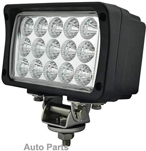 Phare de Travail,EKLAMP 45W Longues Portées LED,Phare LED 12v,LED Phare Travail,Feux Antibrouillard,Projecteurs LED Additionnel 24V pour Tracteur 6000K IP68 5800LM,Moto,VUS, UV,UTV, ATV