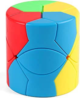 TANCH YJ Barrel Radi Speed Cube Cylinder Magic Cube Puzzle Toy Colorful