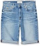 Calvin Klein Jeans Herren Slim Short, Blau (DA001 Light Blue 1AA), W29 (Herstellergröße: NI29)