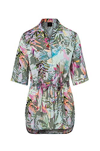 Bogner Fire + Ice Ladies ZEA Bunt-Grün, Damen Kurzarm-Hemd, Größe 44 - Farbe Olive