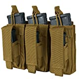 Condor Triple Kangaroo Mag Pouch Coyote,Brown,One Size...