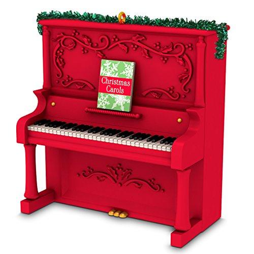 Hallmark Keepsake Christmas Ornament 2018 Year Dated, Deck The Halls Piano with Music