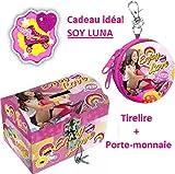 Disney Tirelire Soy Luna +Porte Monnaie Soy Luna Cadeaux Ideal pour Fille