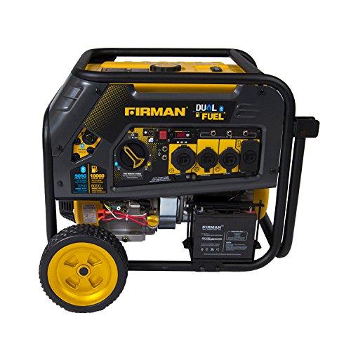 Firman H08051 10000/8000 Watt 120/240V 30/50A Electric Start Gas or...