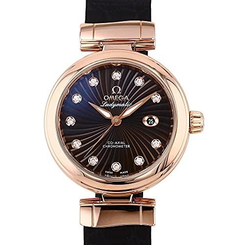 オメガ OMEGA デ・ヴィル レディマティック 425.63.34.20.63.001 ブラウン文字盤 腕時計 レディース (W202854) [並行輸入品]