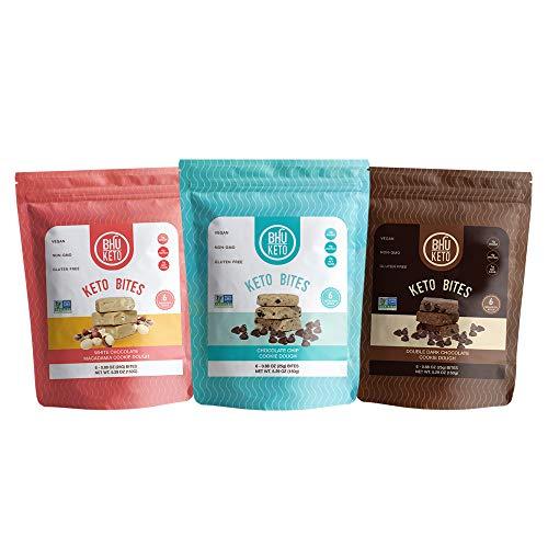 BHU Keto Bites – Variety Pack (3 Bags)