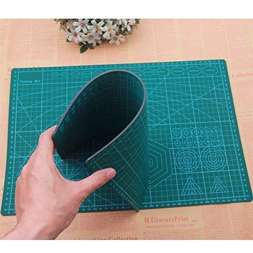 Dauerhaft PVC Schneiden Matten-Auflage-Patchwork Cut Pad Patchwork Werkzeuge Handbuch DIY Werkzeug Schneidebrett Beidseitige Selbstheilung Für Patchwork und Nähen, DIY… (Size : A3 45 X 30cm)