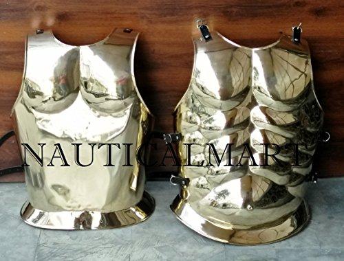 NAUTICAL MART Disfraz de Halloween con armadura muscular de latn griego