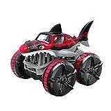Hierba teledirigida Impermeable Que Conduce el Coche teledirigido del tiburón (Rojo)