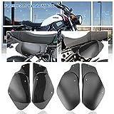Fayedenicy Per Yamaha XSR700 Coprisedili Lato passeggero Posteriore ABS per Moto Protezioni Telaio Superiore Sedile Carenatura Carena Protezione XSR 700 Accessori 2016-2020 (Nero)