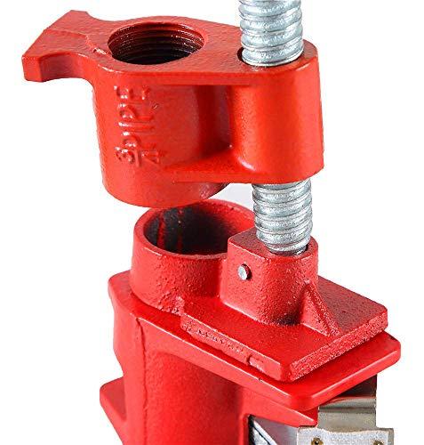 "FLK Tech 4 Pack 3/4"" Wood Gluing Pipe Clamp Set Heavy Duty"