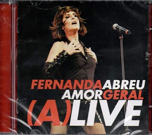Fernanda Abreu - Amor Geral (A)Live - CD