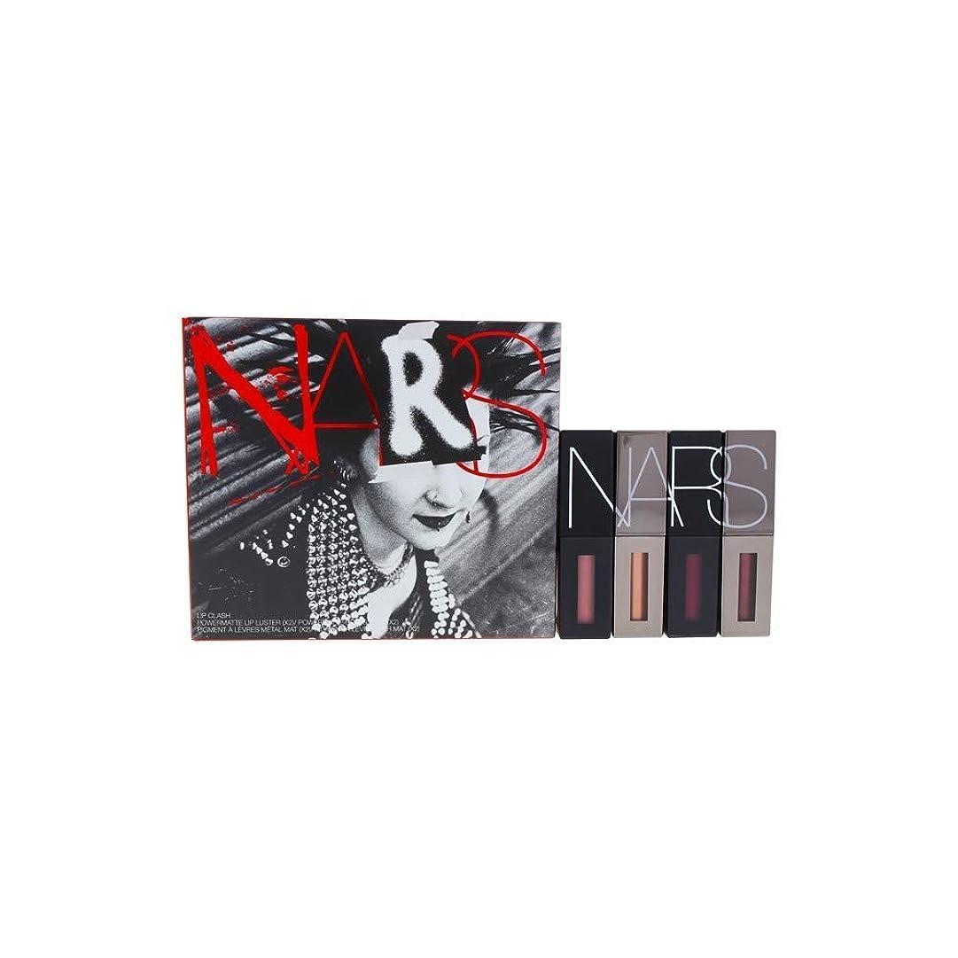 スクリュー絶望凍るNars Powermatte Lip Clash Coffret By Nars for Women - 4 Pc 2 X 0.08oz Lip Pigment - Rise Above, Raise Hell, 2 X 0.09oz Lip Luster - No Future, Gimme A Fix, 4count [並行輸入品]