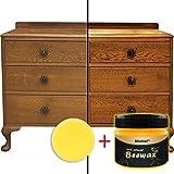 BESSKY Wachs Set - Authentic Premium Wax - Holzgewürz Bienenwachs Komplettlösung Möbelpflege Bienenwachs Home Cleaning