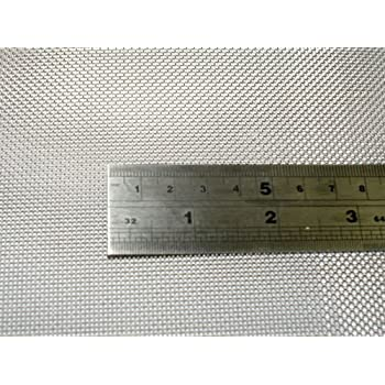 """Stainless Steel 316 Mesh #40 .010 Wire Screen 6/""""x6/"""""""