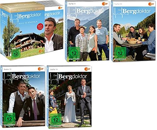 Der Bergdoktor Staffel 1-14 (1-10 Box und Staffel 11+12+13+14) Folgen 1-128 [43 DVDs]