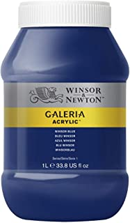 Winsor & Newton Tinta Acrílica Galeria W&N 1 Litro 706 Winsor Blue
