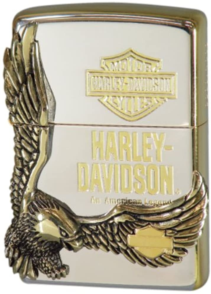 Zippo Oil Lighter Harley Davidson Japan Model HDP-17 m99222737576