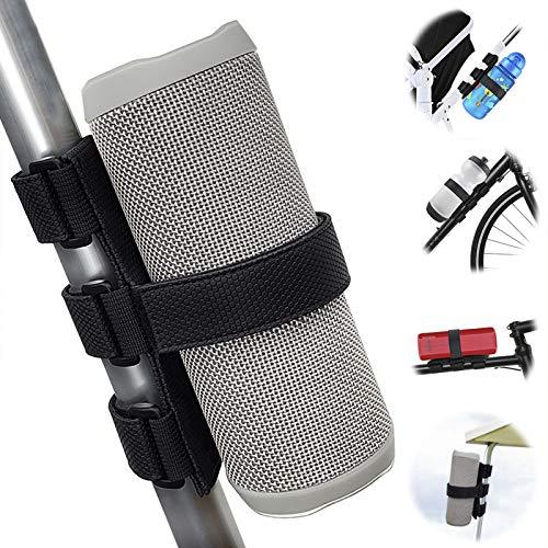 TOOVREN Flaschenhalter Fahrrad Ohne Schrauben, Bluetooth Lautsprecher Box Halterung für JBL Charge, Getränkehalter Einstellbar, Montieren Zubehör für Golfwagen Bar, Tragbarer Lautsprecher Halter