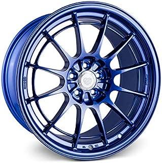 Enkei NT03+M 18x9.5 5x100 40mm Offset Blue Wheel Rim