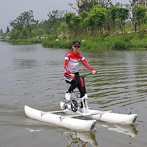 Adulti Biciclette in acqua Bikeboat Gonfiabile Kayak per il lago Water Sports Touring Kayaks Sea Pedal Pedal Pedal Bicycle per Pesca sportiva divertente